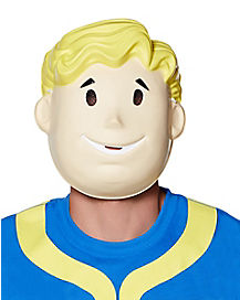 Adult Vault Boy Mask - Fallout