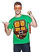 Ninja Turtle Shell T Shirt - TMNT