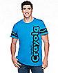 Adult Cerulean Blue Crayon T Shirt - Crayola