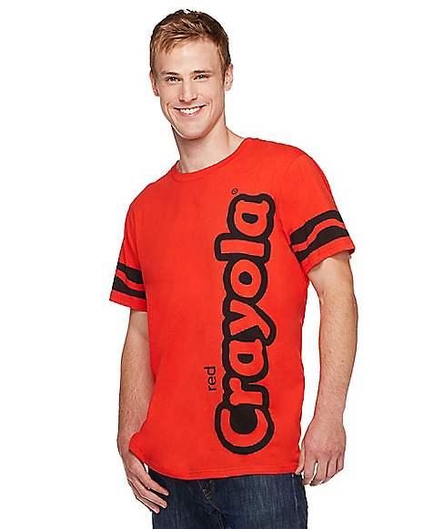 Adult Red Crayon T Shirt - Crayola