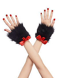 Cat in the Hat Fur Cuffs - Dr. Seuss