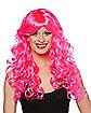 Razzmatazz Pink Crayon Wig - Crayola