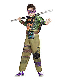 Kids TMNT Donatello Costume Deluxe - Out Of The Shadows