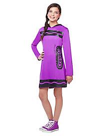 tween vivid violet purple crayon costume crayola
