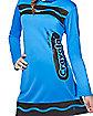 Tween Cerulean Blue Crayon Costume - Crayola
