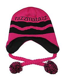 Pink Razzmatazz Crayon Laplander Hat - Crayola