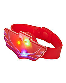 Kids Light Up Owlette Bracelet - PJ Masks