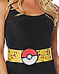 3D Pikachu Cinch Belt - Pokemon