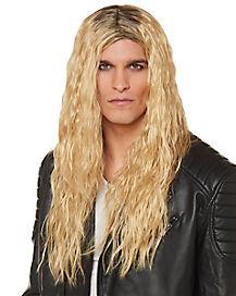 Blonde Glam Metal Wig