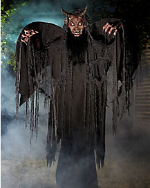 6 ft forest demon animatronics decorations - Animated Halloween Decorations