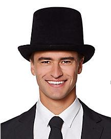 Male Black Top Hat