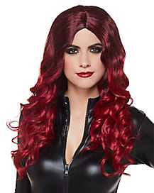 Burgundy Ombre Wig