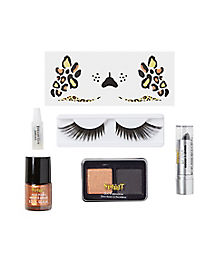 Leopard Cosmetics Kit