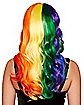 Rainbow Curls Wig