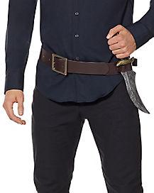 Brown Holster Belt