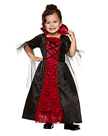 Toddler Victorian Vampiress Costume