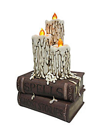Light Up Candle Books - Decoration