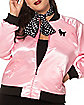 Adult Pink Sweetie Plus Size Jacket