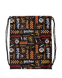 Gryffindor Cinch Bag - Harry Potter