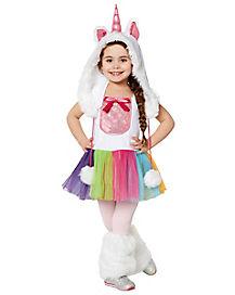 Toddler Vivid Unicorn Costume