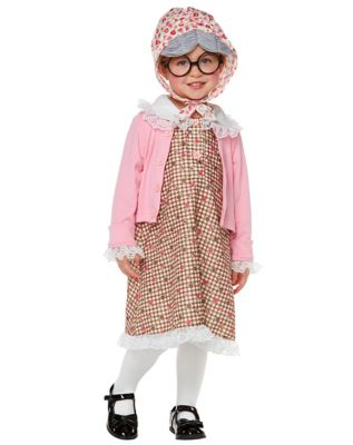 1940s Children's Clothing: Girls, Boys, Baby, Toddler Baby Lil Grandma Costume by Spirit Halloween $29.99 AT vintagedancer.com
