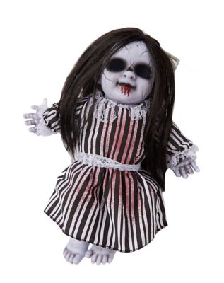 1 ft haunted gothtober doll decorations