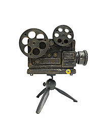 1 ft haunted movie projector with stand animatronics decorations