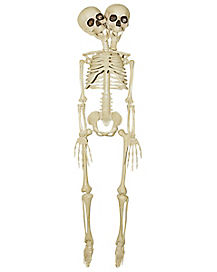 20 Inch Two-Headed Skeleton - Decorations