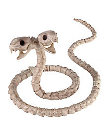 Two-Headed Snake Skeleton - Decorations