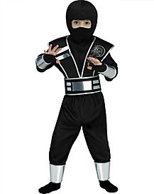 Toddler Silver Mirror Ninja Costume