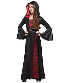 Kids Bat Vampiress Costume