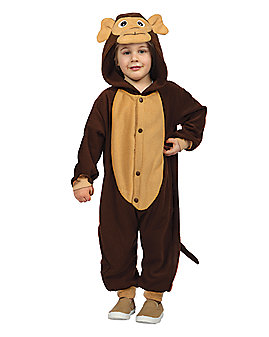 Toddler Monkey Pajama Costume