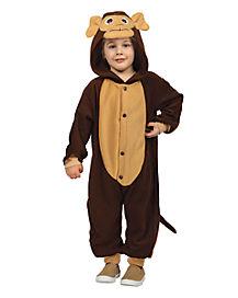 Toddler Monkey Union Suit