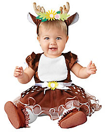 Baby Fawn Dress Costume
