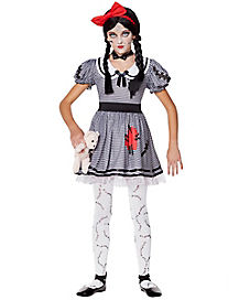 Kids Wind-Up Doll Costume