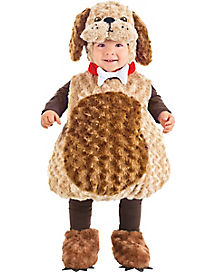 Toddler Belly Puppy Costume