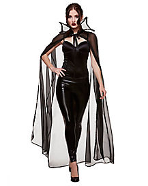 Adult Sheer Vampire Cape