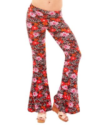 Vintage High Waisted Trousers, Sailor Pants, Jeans Hippie Bell Bottom Leggings by Spirit Halloween $19.99 AT vintagedancer.com