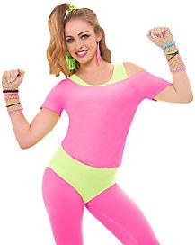 Neon Pink Crop Top