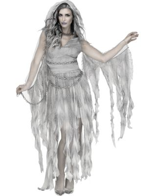 Easy DIY Edwardian Titanic Costumes 1910-1915 Adult Enchanted Ghost Costume by Spirit Halloween $49.99 AT vintagedancer.com