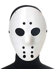 Boys White Hockey Mask