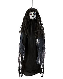 3 ft gray hanging girl decorations - Halloween Hanging Decorations