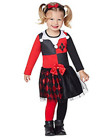 Toddler Harley Quinn Dress - DC Comics