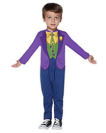Toddler Joker One Piece Costume - DC Comics  sc 1 st  Spirit Halloween & Superheroes Boys Toddler Costumes - Spirithalloween.com