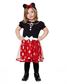 Toddler Minnie Mouse Dress Costume - Disney  sc 1 st  Spirit Halloween & Best Mickey Mouse Halloween Costumes | Minnie Mouse ...