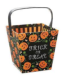 Trick-or-Treat Pumpkin Bucket
