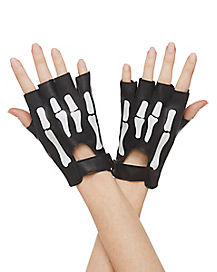 Moto Skeleton Gloves