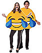Adult Laughing Emoji Costume