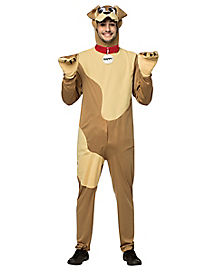 Adult Happy Dog Costume