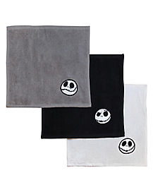 Jack Skellington Washcloth 6 Pack - The Nightmare Before Christmas
